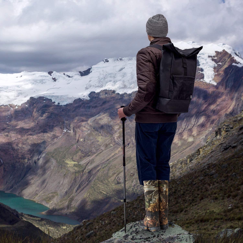 Laufen Bergsteigen rei/ßfest Jagd HNGPB Wasserdichte Beingamaschen Rucksackreisen Angeln Gamaschen f/ür Wandern f/ür Outdoor-Schneestiefel