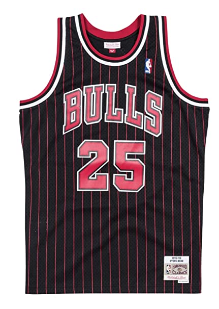 Steve Kerr Chicago Bulls Mitchell and Ness Men s Black Throwback Jesey  3X-Large 4b7239119