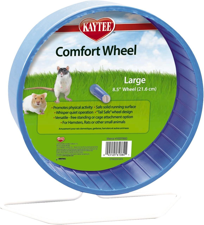Kaytee 100079363 - Rueda para roedores con diámetro 21.6 cm, color surtido, Grande
