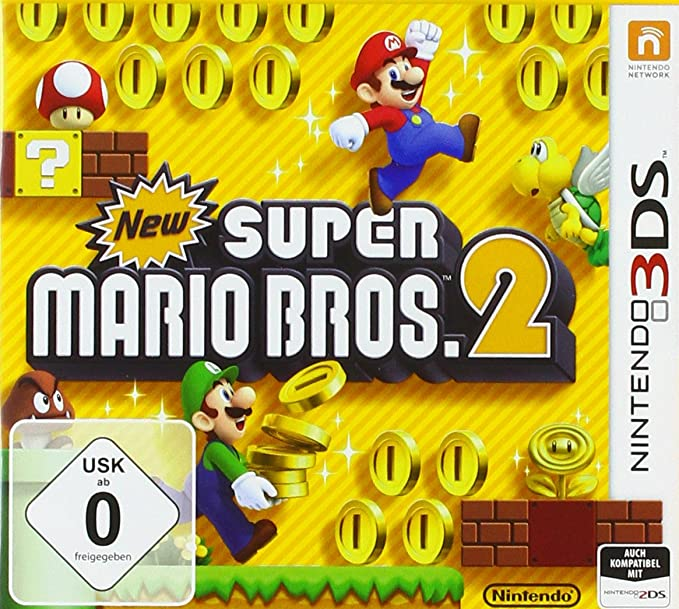Nintendo 3ds New Super Mario Bros 2 3ds