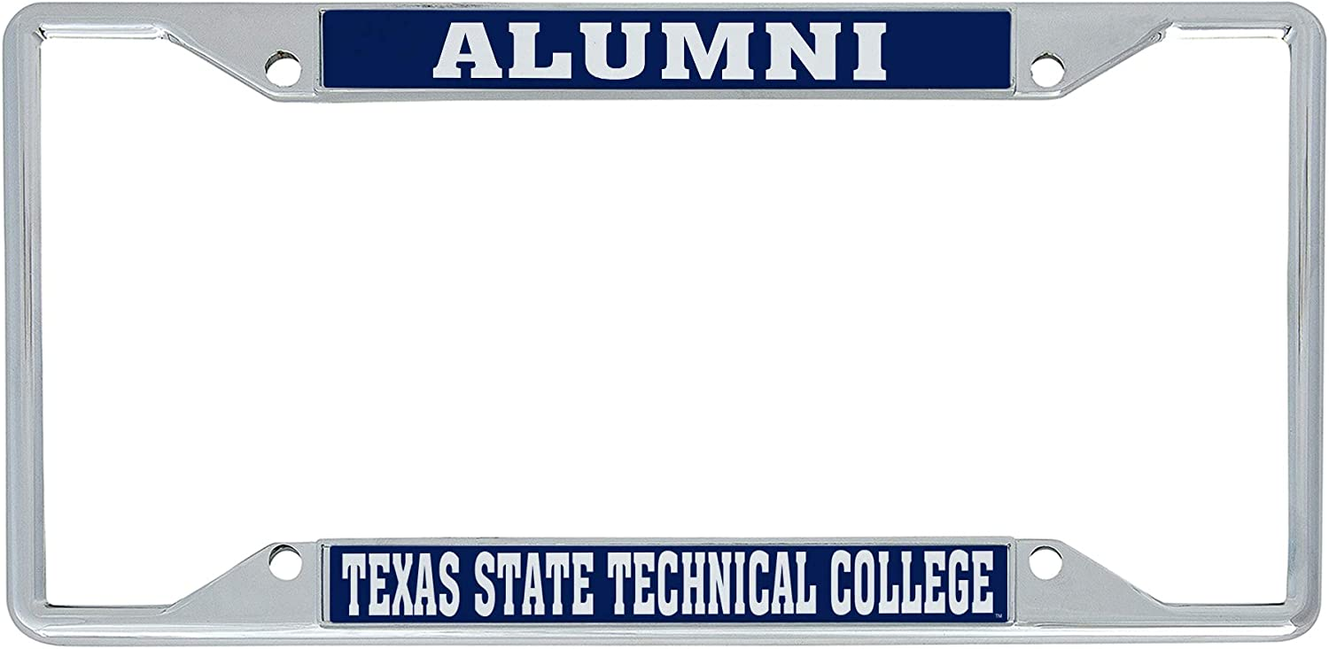 Alumni Desert Cactus Texas State Technical College TSTC Tornadoes NCAA Metal License Plate Frame for Front or Back of Car Officially Licensed