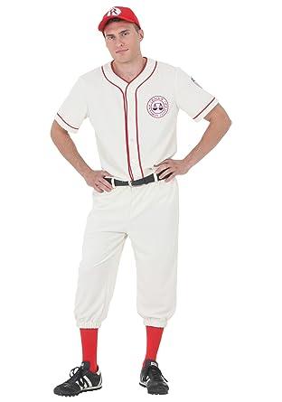 league of their own coach jimmy baseball uniform costume l