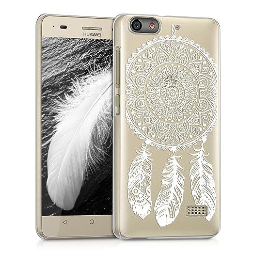 33 opinioni per kwmobile Cover per Huawei G Play Mini- Custodia trasparente per cellulare- Back