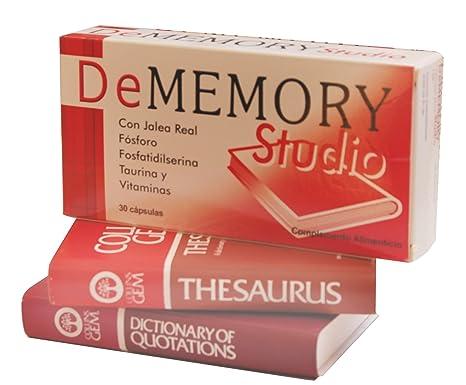 DE MEMORY - DE MEMORY STUDIO 30 CAPS