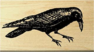 P26 Crow - Raven Rubber Stamp