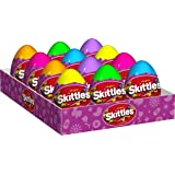 Skittles Original Candy Filled Easter Eggs, (Pack of 12)