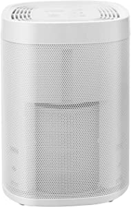 Croztek Air Purifier with True HEPA Carbon Filter Ionizer UV LED Light 3-in-1 Portable Travel Air Purifiers Small Room Home Air Cleaner for Allergies and Pets, Smokes, Odors, Pollen, Mold, Dust, Germs