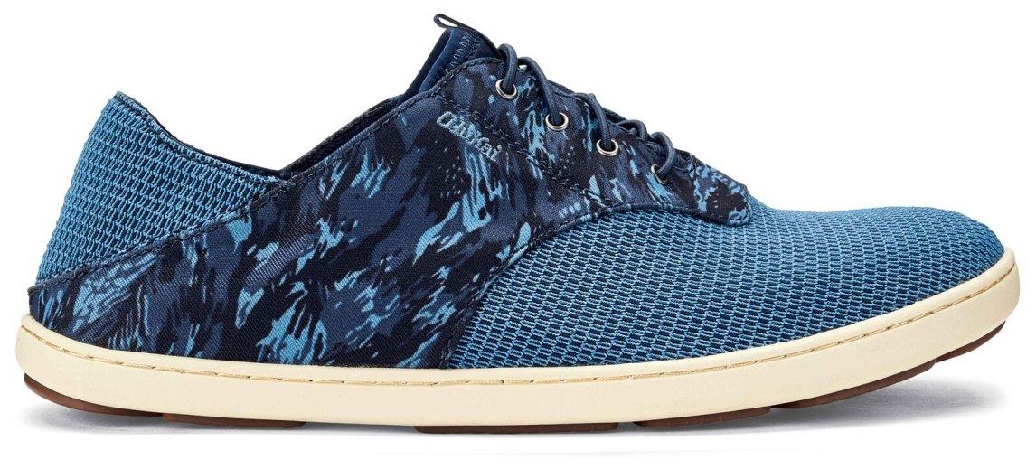 OLUKAI Nohea Moku Shoes - Men's B073C3TKDQ 8 D(M) US Trench Blue/Dive Camo