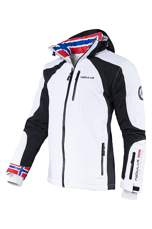 Veste de ski femme noir et bleu