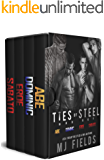 The Ties of Steel: The Ties of Steel Box Set (Steel World Box Set Book 2)