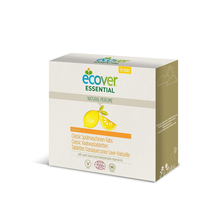 Ecover - Caja de 70 pastillas para el lavavajillas, XL, 1,4 kg ...
