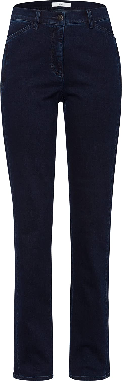 BRAX Damen Style Carola Jeans Clean Dark Blue