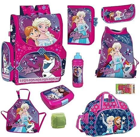 Disney La reina de hielo escolar (10 piezas. Estuche lata ...