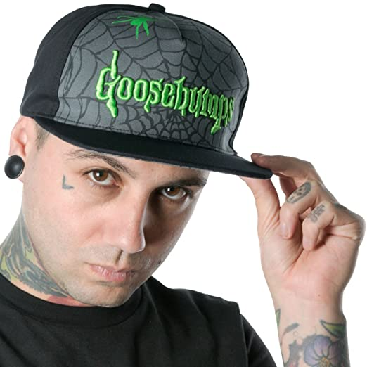 Image Unavailable. Image not available for. Color  Kreepsville Presents Goosebumps  Spiderweb Logo Baseball Hat 631d901adc4d