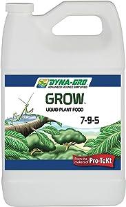 Dyna-Gro GRO-100 1 Gallon Grow 7-9-5 Liquid Plant Food, 1 gal, White