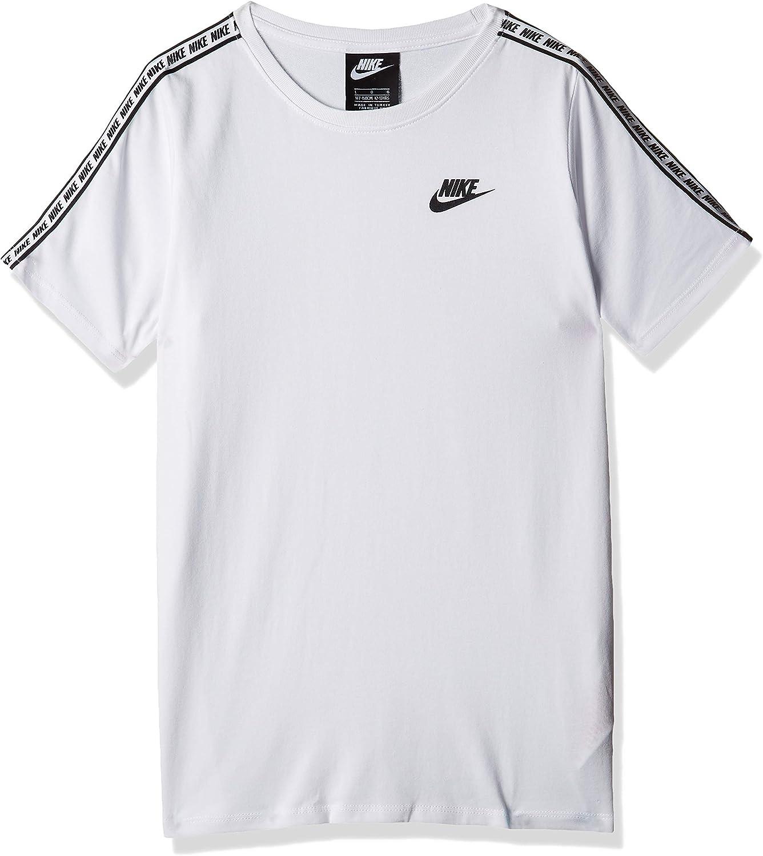 Nike Repeat - Camiseta de Manga Corta, Color Blanco Blanco L: Amazon.es: Ropa y accesorios