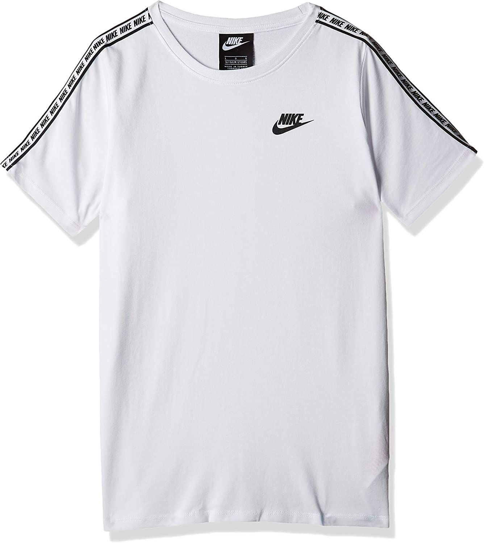 Nike Repeat - Camiseta de Manga Corta, Color Blanco Blanco L ...