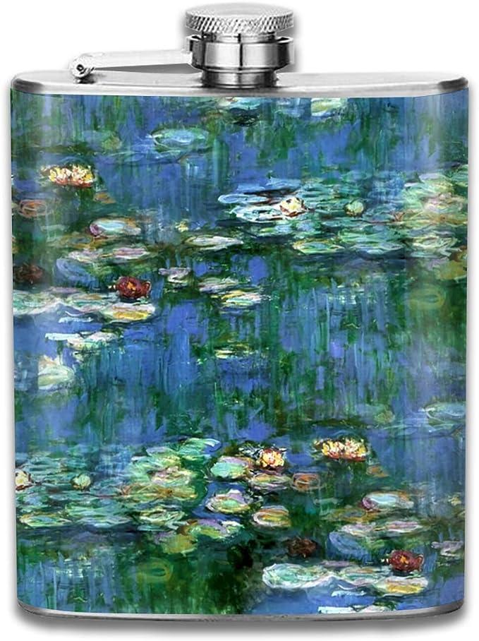 Claude Monet Lirios de agua Regalo para hombres 7 oz ...