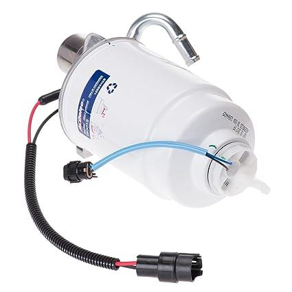 amazon com: oem new 6 6l duramax diesel fuel filter housing 05-12 silverado  sierra 12642623: automotive