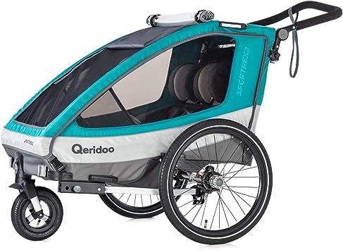 Qeridoo Sportrex2 (2019) - Remolque Infantil para Bicicleta, Color ...