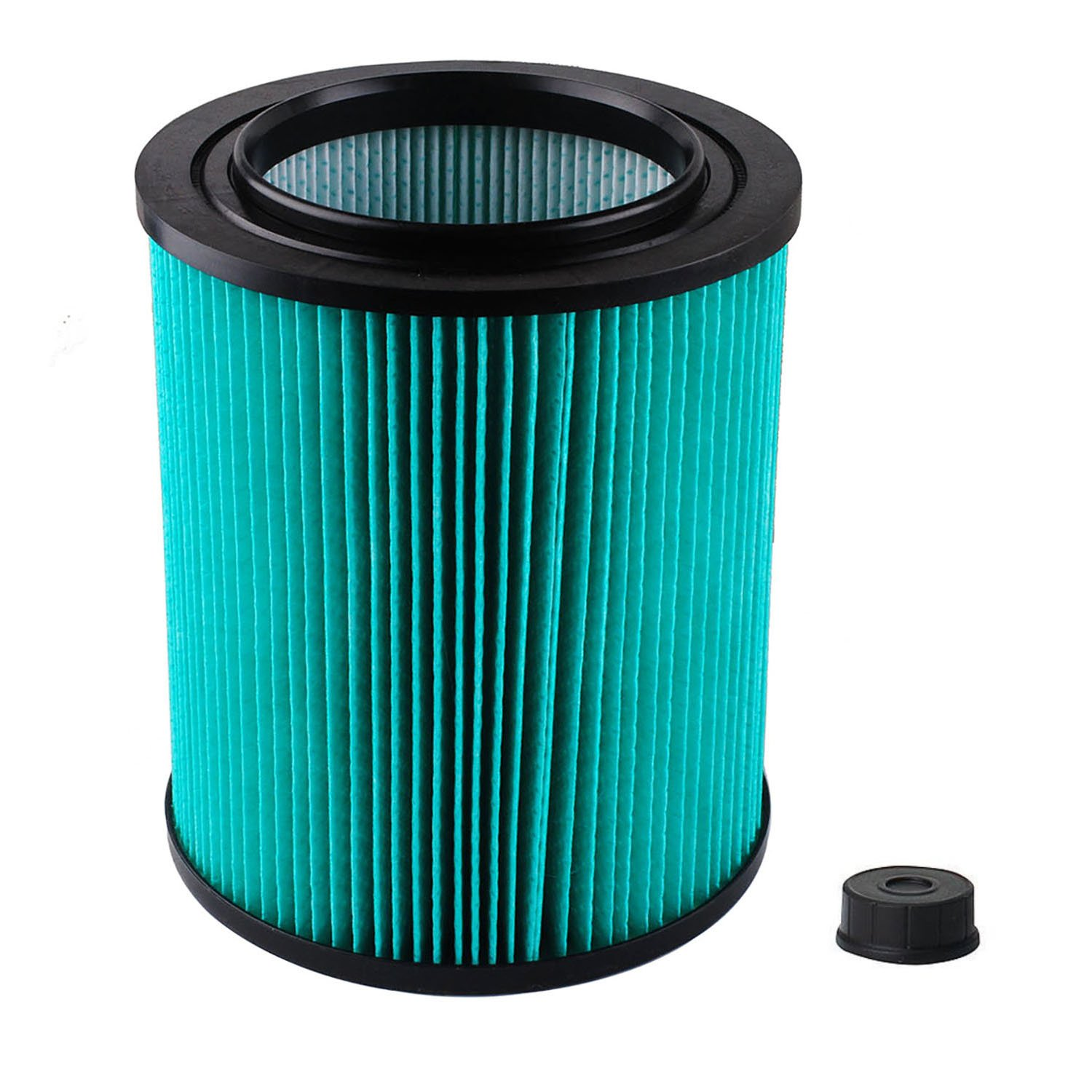 Podoy 9-17912 Wet Dry Vacuum Filter Shop Vac Air Filter Replacement Compatible with Craftsman with High Efficiency