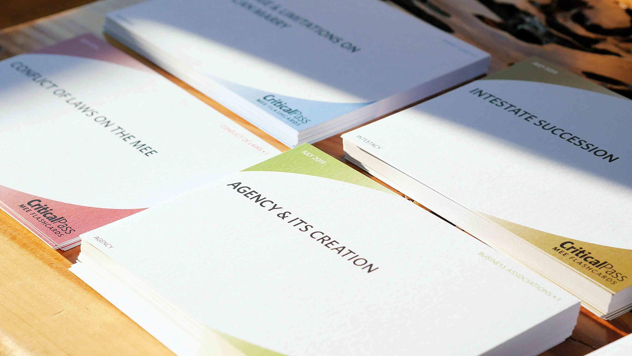Critical Pass MEE Bar Exam Essay Flashcards by Critical Pass