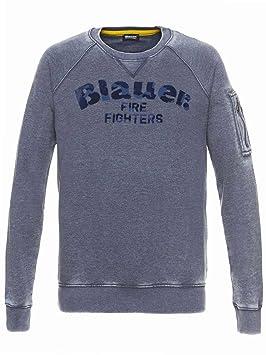 Moto Et Blauer SweatshirtAuto Usa Pompiers 6IYb7gfyvm