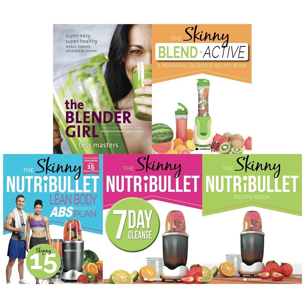 Download Blender girl, blender recipe book, lean body abs workout, 7 day cleanse and skinny nutribullet recipe book 5 books collection set ebook