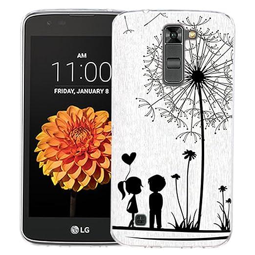 Dooki, LG K7 Funda, Suave Silicona Teléfono de Caso Funda Para LG K8: Amazon.es: Hogar
