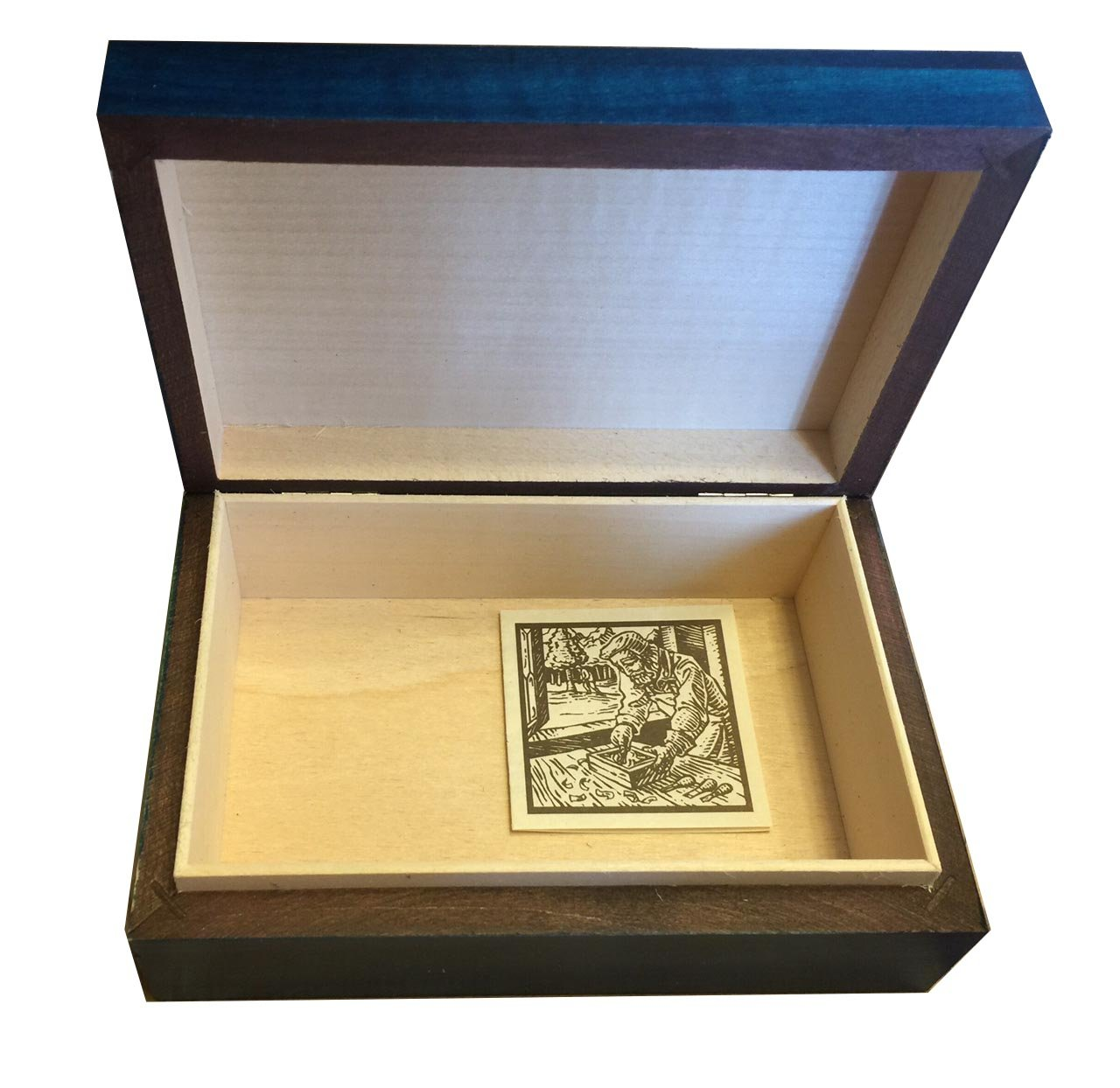 SEWING BOX Polish Handmade Wood Art Keepsake Unique Masterpiece Exclusive Gift