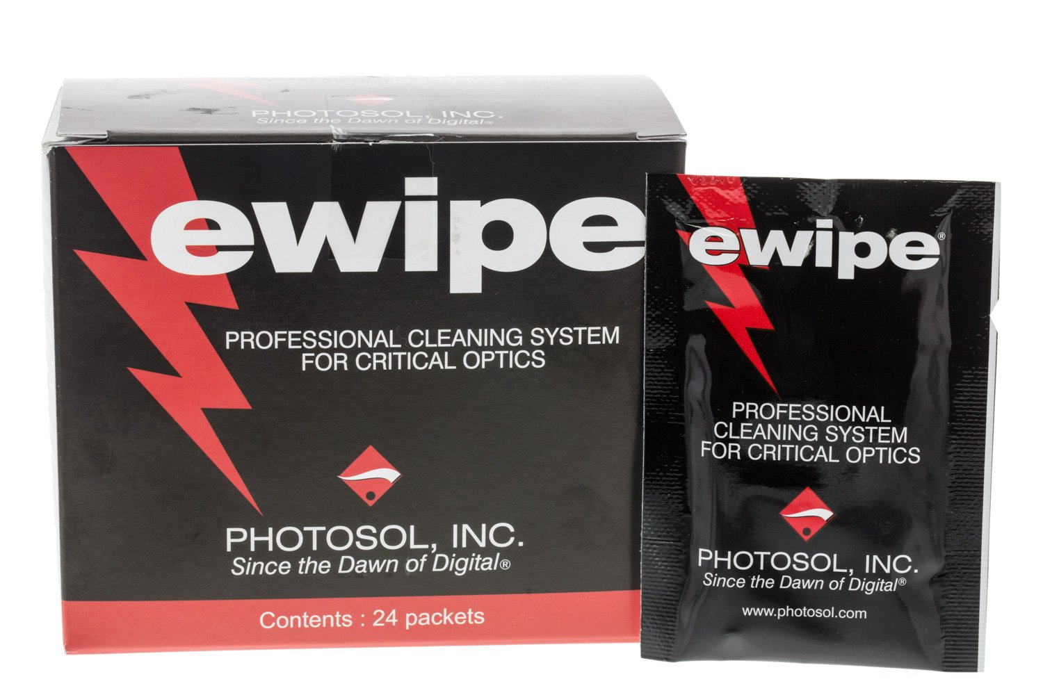 E-Wipe Cleaning Pad for Optics 24per/box Photographic Solutions Inc. EW