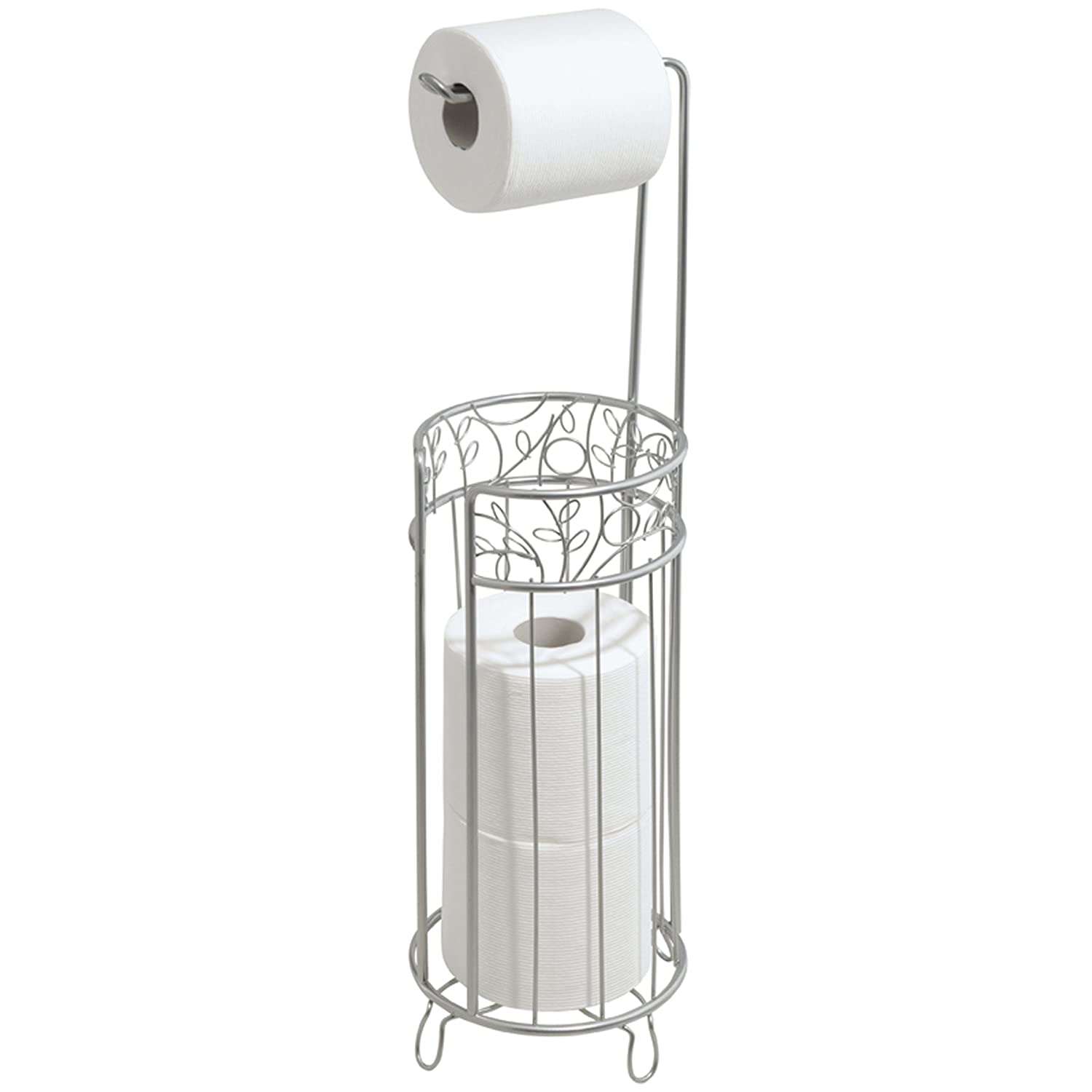 Toilet Paper Roll Holder Stand