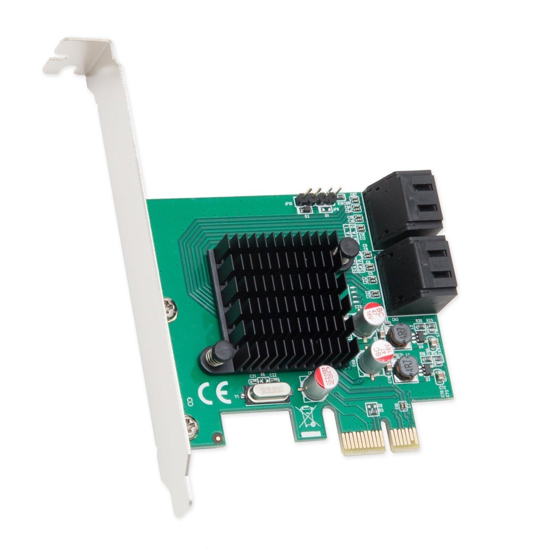 Syba 4 Port SATA III PCI-e 2.0 x1 Controller Card Marvell 92