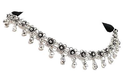 69d9f0843d Amazon.com: Athizay Navratri Necklace for Women Oxidized Silver ...