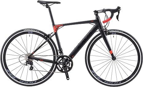SAVADECK Bicicleta de carretera de aluminio, R8 700C, bicicleta de ...