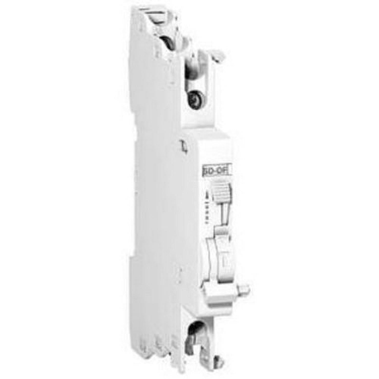 Schneider Electric GVAD1001 GVAD Contact Auxiliaire, 1F+1O, Signal de Dé faut 1 'F', 48-690V Signal de Défaut 1 F
