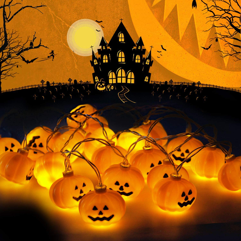 Luci di Zucca di Halloween 0274f6615299