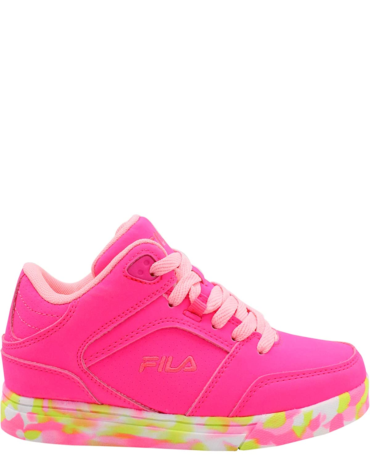 Little Kid ,Pink,1.5 Fila Kids Falina Mashup Sneaker