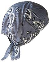 Bandana Foulard Couleur Jean Bleu Us Usa Moto Paintball Veste
