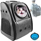 PETRIP Dog Backpack Carrier Cat Backpack for Large Cats 22 lbs Dog Travel Bag Pet Backpack Carrier for Medium Small Dogs…