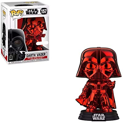 Funko Pop! Star Wars - Darth Vader (Red Chrome) Exclusive: Toys & Games
