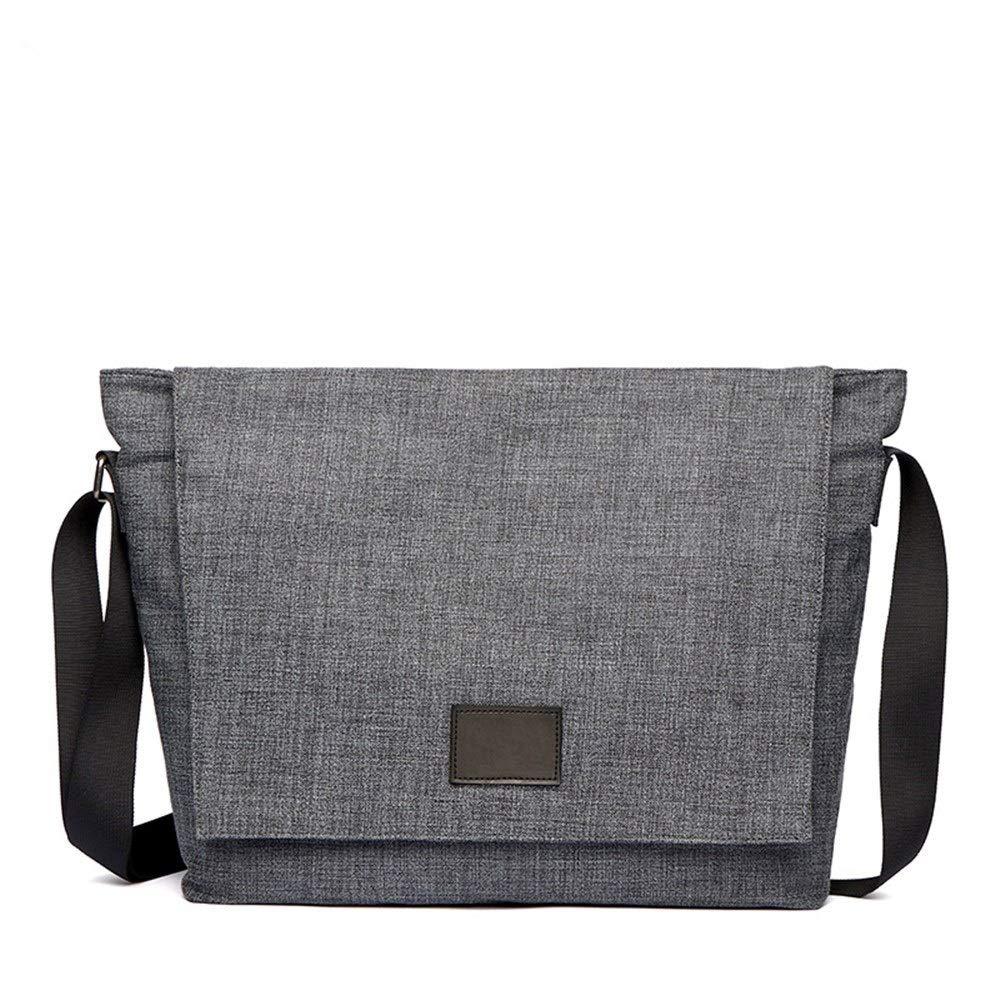 Liuweejb New Men's Business Casual Bag Business Briefcase Men Simple and Versatile Shoulder Messenger Bag (Color : Picture Color)