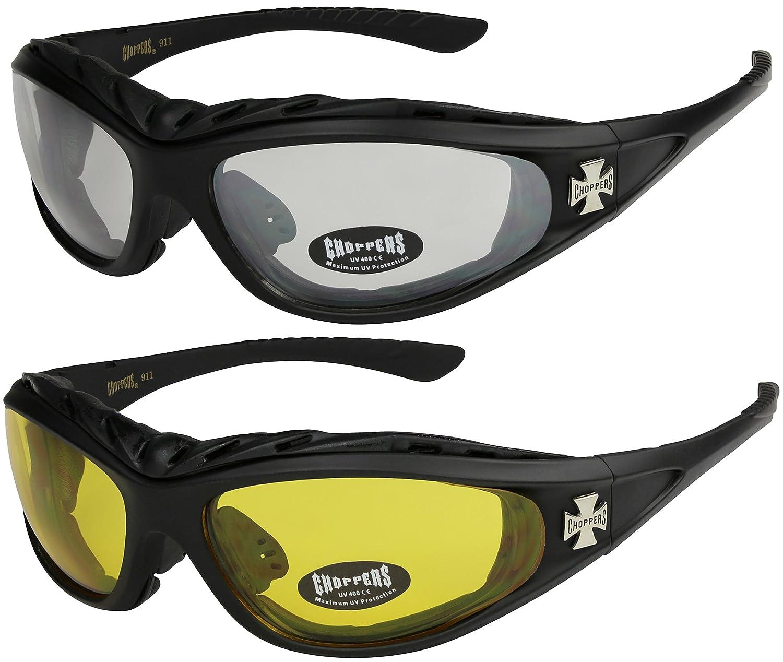 und 1x Modell 04 X-CRUZE 2er Pack Choppers 911 X 13 Sonnenbrillen Motorradbrille Sportbrille Radbrille schwarz//schwarz get/önt 1x Modell 01 silber//schwarz get/önt