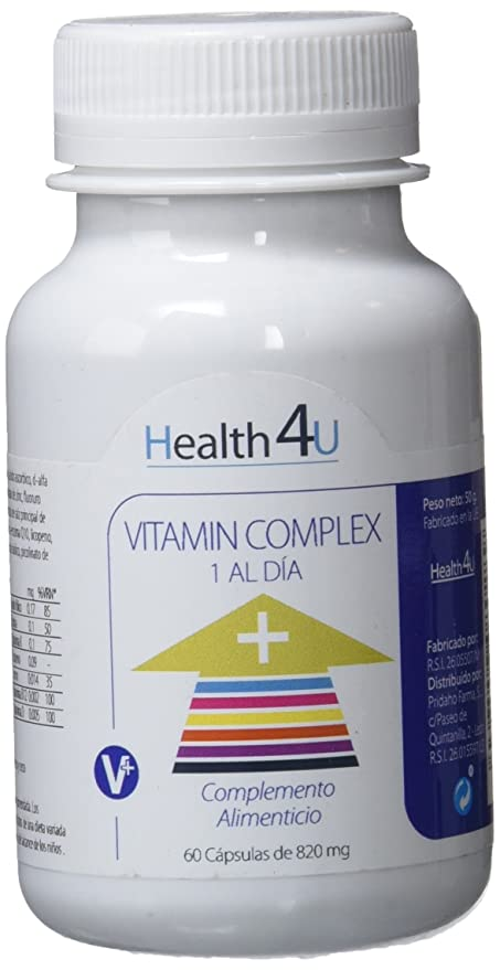 H4U Vitamin Complex 60 cápsulas de 820 mg