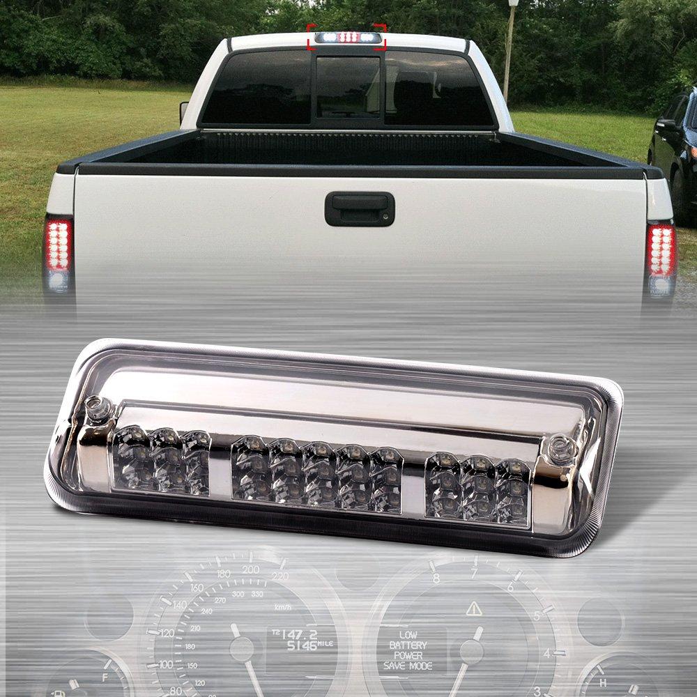 Cargo Led Tail Light Lamps For 2004-2008 Ford F150/Explorer Chrome Housing Rear 3rd Third Brake Light by G-PLUS