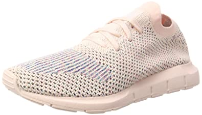 d2aa427bd Image Unavailable. Image not available for. Color  adidas Originals Women s  Swift Run Primeknit Trainers Icey US5.5 Pink