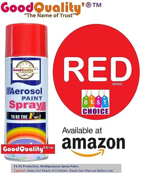694282fc48e8 F1 Aerosol Spray Paint (Red)  Amazon.in  Car   Motorbike