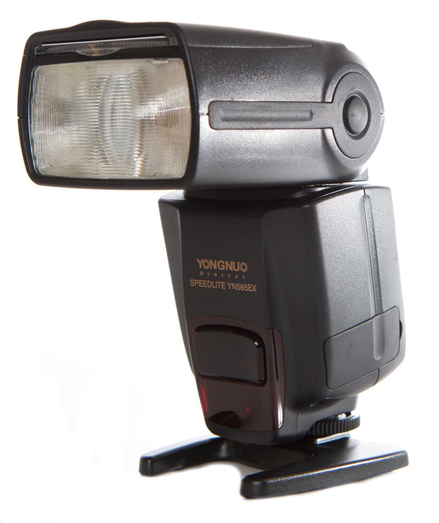 Yongnuo YN565EXN-USA i-TTL Speedlite Flash for Nikon, GN58, US Warranty (Black) by Yongnuo