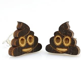 product image for Poop Emoji Stud Earrings
