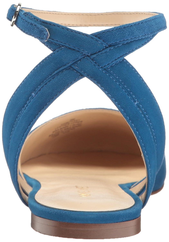 Nine West Women's Begany Suede Ballet Flat B01NCJWWZI 6 B(M) US|Blue